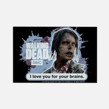 Walking Dead Love Your Brains Magnet