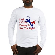 Democrat Donkey Converts Long Sleeve T-Shirt