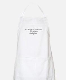 Though she be but little ~ Shakespeare Apron