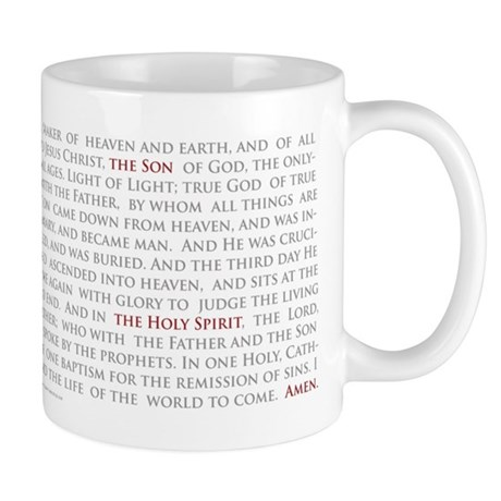 Nicene Creed Mug