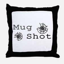 Mug Shot Throw Pillow