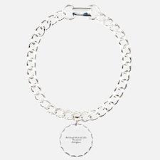 Though she be but little ~ Shakespeare Bracelet