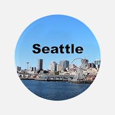 "Seattle 3.5"" Button"