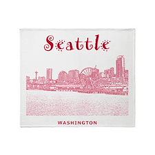 Seattle Throw Blanket