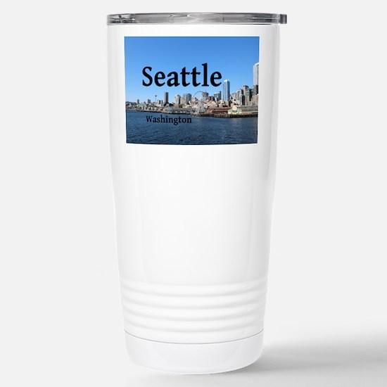 Seattle Stainless Steel Travel Mug