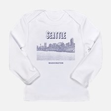 Seattle Long Sleeve Infant T-Shirt