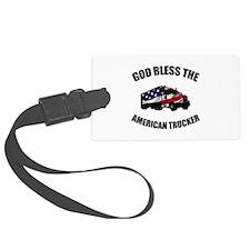 American Trucker Luggage Tag