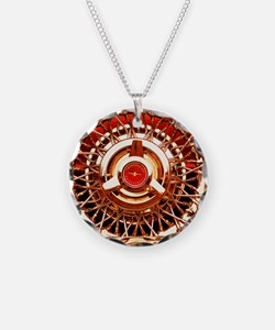 Red T-Bird Necklace
