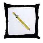 The Celtic Sword Throw Pillow