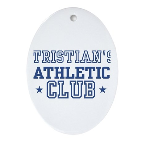 Tristian Oval Ornament