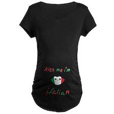 Kiss Me I'm Italian Cute Kawaii T-Shirt
