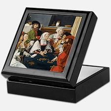 Lucas Van Leyden - The Card Players Keepsake Box