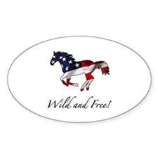 American Horse Decal