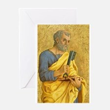 Marco Zoppo - Saint Peter Greeting Card