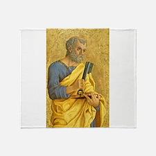 Marco Zoppo - Saint Peter Throw Blanket