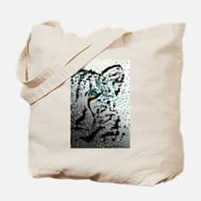 elephant in tiger's eye Tote Bag
