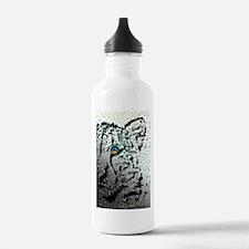 elephant in tiger's eye Water Bottle