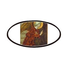 Masolino da Panicale - The Archangel Gabriel Patch