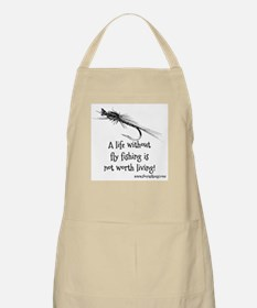 Life Without Fly Fishing Apron