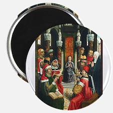 Master of the Catholic Kings - Christ among the D