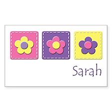 Daisies - Sarah Rectangle Decal