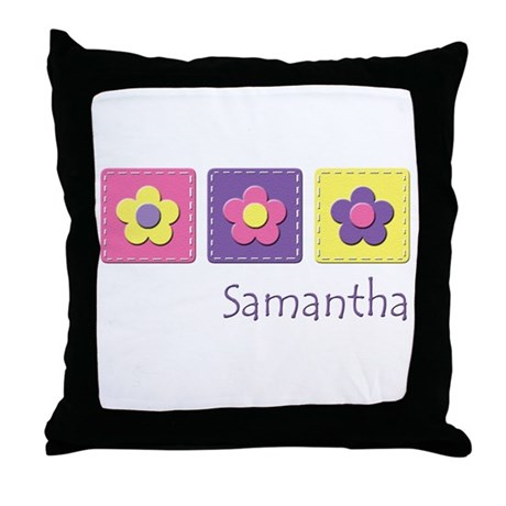 Daisies - Samantha Throw Pillow