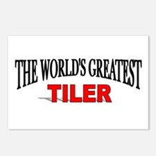 """""""The World's Greatest Tiler"""" Postcards (Package of"""