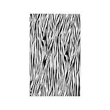 Zebra print rug 3x5 Rugs