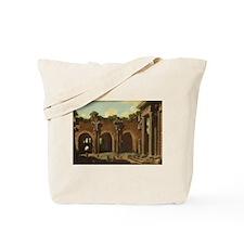 Niccolo Codazzi - The Basilica of Constantine wit