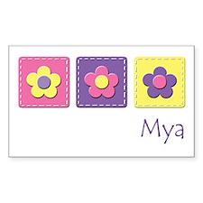 Daisies - Mya Rectangle Decal