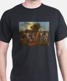 Nicolas Poussin - The Baptism of Christ T-Shirt