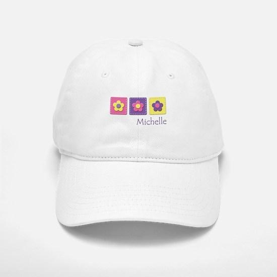 Daisies - Michelle Baseball Baseball Cap