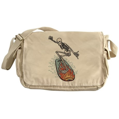 Bonehead Board Dude Messenger Bag