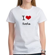 I Love Evelin T-Shirt