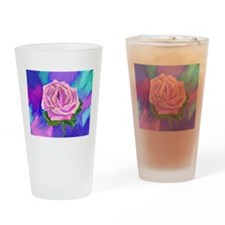 Prayer Rose Drinking Glass
