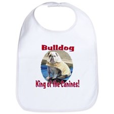 Bulldog, King of the Canine Bib