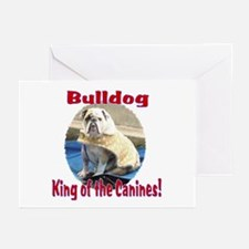 Bulldog, King of the Canine Greeting Cards (Packag
