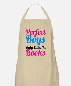 Perfect Boys Only Exist In Books Apron