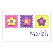 Daisies - Mariah Rectangle Decal
