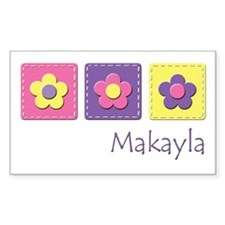 Daisies - Makayla Rectangle Decal