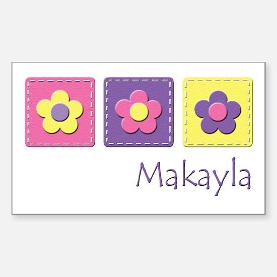 Daisies - Makayla Rectangle Decal