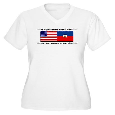HaitiUSA copy.jpg Plus Size T-Shirt