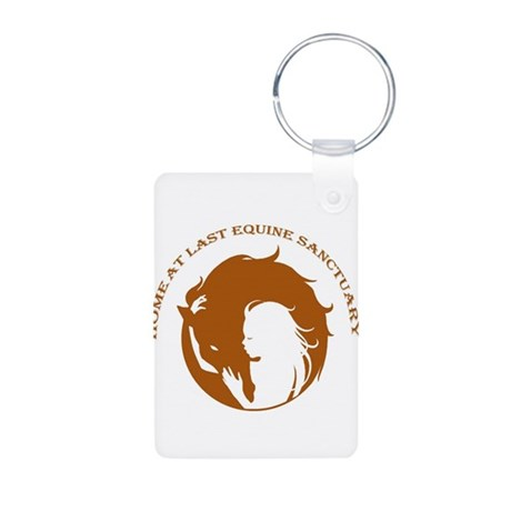Home At Last Logo Keychains