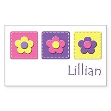 Daisies - Lillian Rectangle Decal