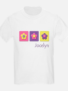 Daisies - Jocelyn Kids T-Shirt