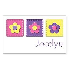 Daisies - Jocelyn Rectangle Decal