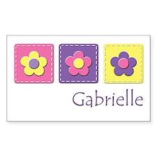Daisies - Gabrielle Rectangle Decal