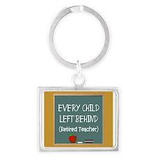 Retired Teacher Keychains