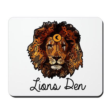 The Lions Den Mousepad