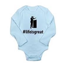 Auctioneer Long Sleeve Infant Bodysuit
